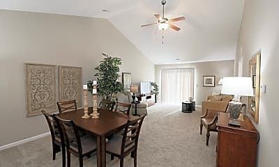 Dining Room, The Residences at Lancaster Ridge, 2
