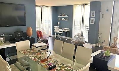 Living Room, 3300 NE 191st St 1501, 0