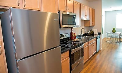 Kitchen, 1100 Girard, 1