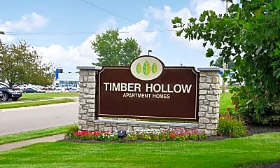 Community Signage, Timber Hollow, 2
