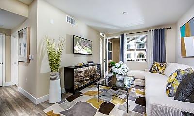 Living Room, Aria Apartments, 1