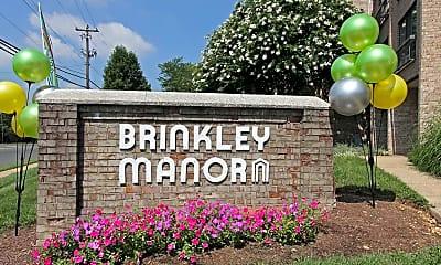 Community Signage, Brinkley Manor, 2