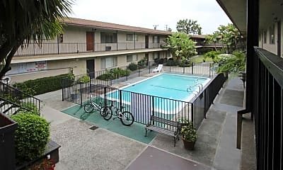 Pool, The Rosemont Apartments, 0