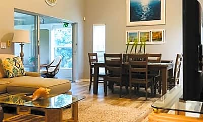 Living Room, 16801 Sanibel Sunset Ct 403, 0