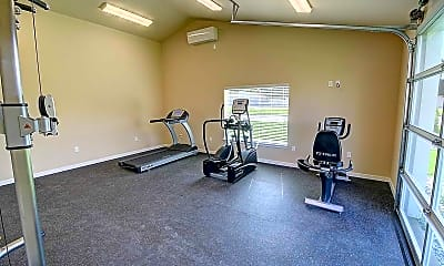 Fitness Weight Room, Eastgate Apartments, 2