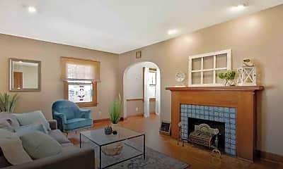 Living Room, 1458 Coolidge St, 1