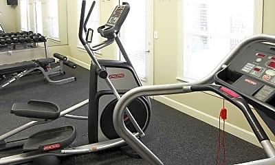 Fitness Weight Room, Overlook Terraces, 1