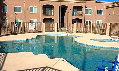Pool, Spring River Apartments, 2