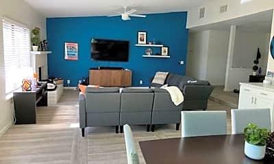 Living Room, 1333 E Via Escuela, 2