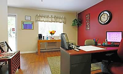 Living Room, The VUE at Greensboro, 1