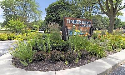 Community Signage, Timber Ridge Apartments-Legacy, 2