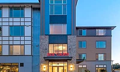 Building, Six Oaks Apartments, 0