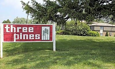 Community Signage, Three Pines, 2