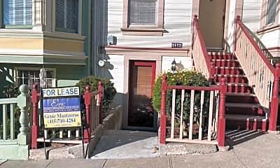 Community Signage, 2572 McAllister St, 1