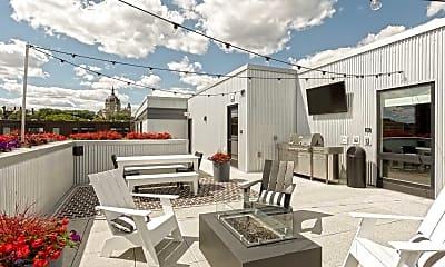 Patio / Deck, Oxbo Apartments, 2