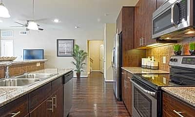 Kitchen, West Lake Park Apartments, 1