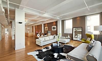 Living Room, 132 W 22nd St, 1