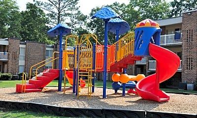 Playground, Birdneck Village Apartments, 2