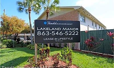 Community Signage, 929 Gilmore Ave, 1