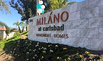 Community Signage, Elan Milano, 0
