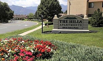 Community Signage, The Hills Apartments, 2