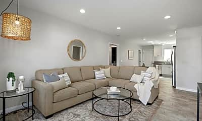 Living Room, 1207 Florence St, 0