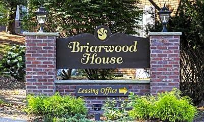Community Signage, Briarwood House Apartments, 0