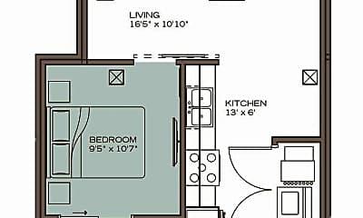 Living Room, 300 W Florida St, 2