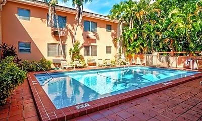 Pool, Santillane Apartments, 0