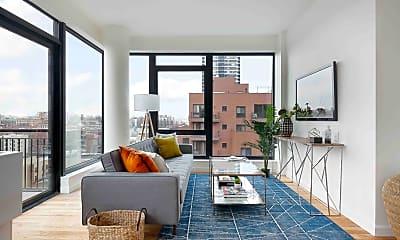 Living Room, 2211 3rd Ave 7-G, 1