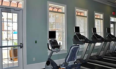 Fitness Weight Room, Cambria at Cornerstone Apartments, 2