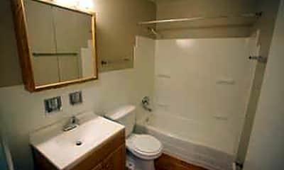 Bathroom, Montgomery Plaza, 2