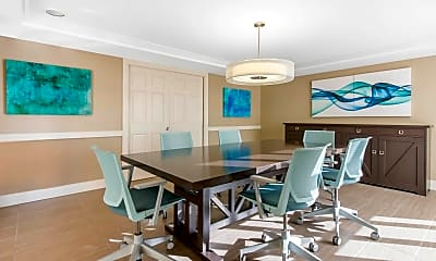 Dining Room, Gables Grand Plaza Apartments, 1