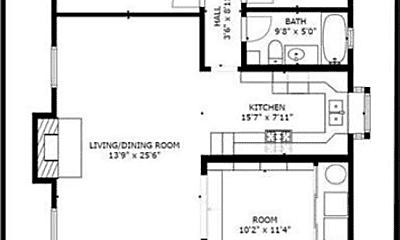Kitchen, 293 Melrose Dr, 2
