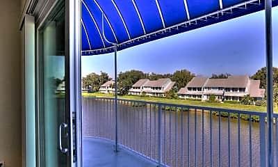 Patio / Deck, 6134 River Run Dr 301B, 2