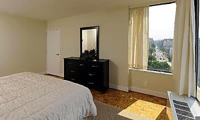 Bedroom, 2400 Virginia Ave NW, 2