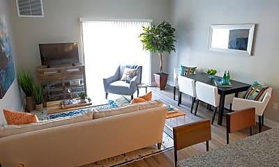 Living Room, Highcroft Apartments, 2