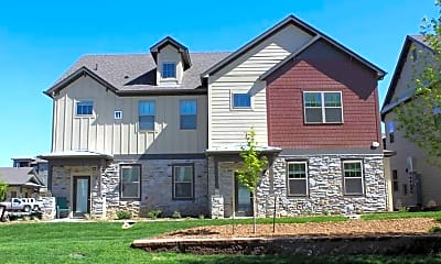 Building, Crowne at Timberline Apartments and Townhomes, 1