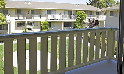Patio / Deck, Wildwood Manor, 2