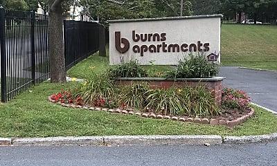 Burns Apartments, 1