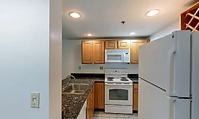 Kitchen, 28 Queensberry Street, unit B, 1