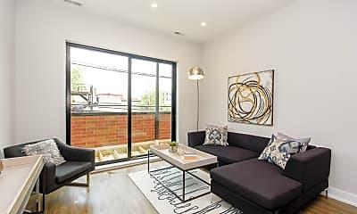 Living Room, 1023 N Ashland Ave 209, 1