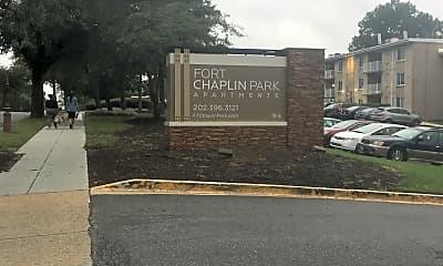Fort Chaplin Park Apartments, 1