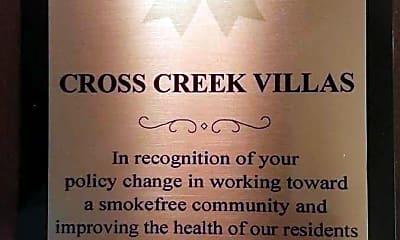 Community Signage, Cross Creek Villas, 2