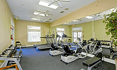 Fitness Weight Room, 5000 Old Shepard Pl, 1