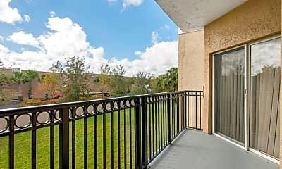Patio / Deck, The Preserve at Deer Creek Apartments, 2