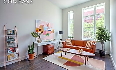 Living Room, 363 Prospect Pl 2-F, 1