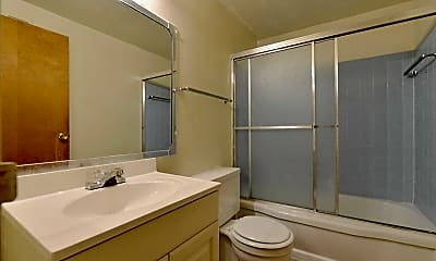 Bathroom, Wrightview Apartments, 2