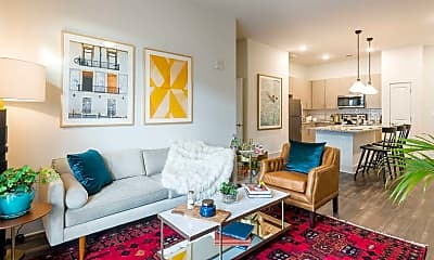 Living Room, The Oliver at Chamblee, 1