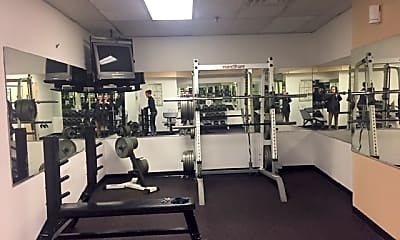 Fitness Weight Room, 111 Mulberry St 1E, 2